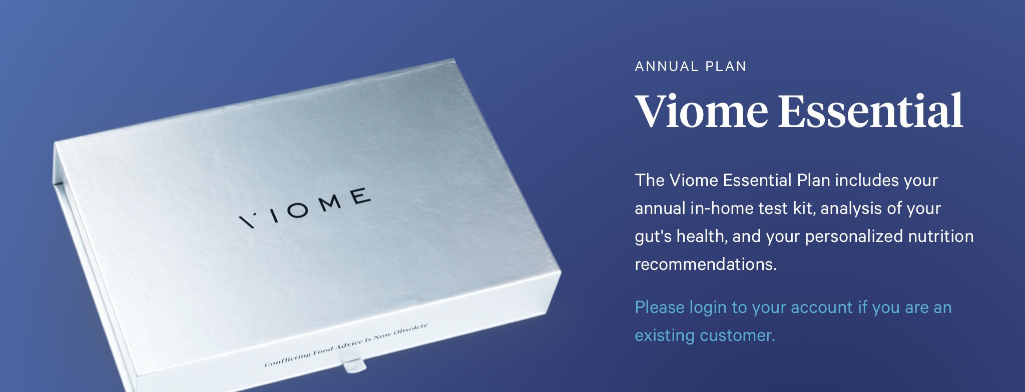 Save $35 OFF Viome Microbiome Testing