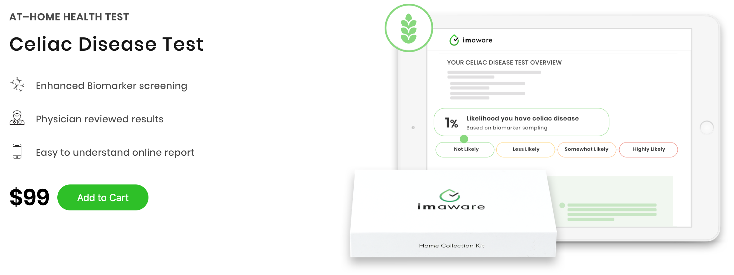 imaware At-Home Celiac Test