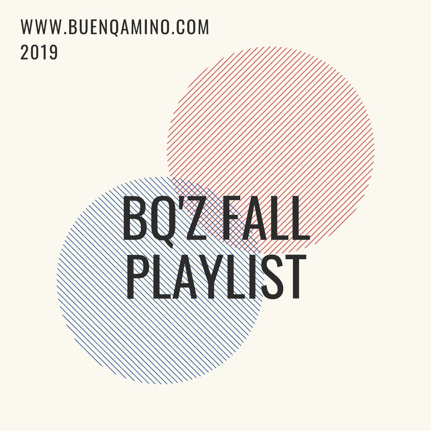 Fall 2019 Playlist - A soundtrack for changing, shifting, moving, and grooving. PSL not included.