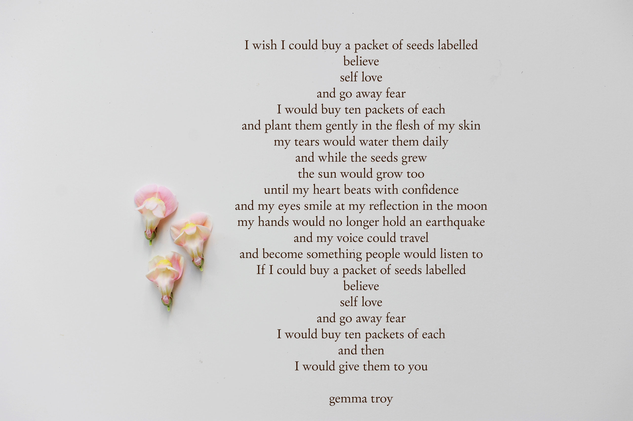 Gemma Troy Poetry