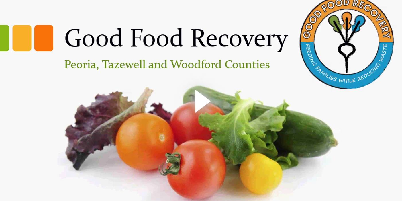 Good Food Recovery - Watch the webinar.