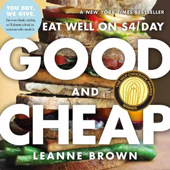 Good and Cheap - Download this cookbook for FREE.