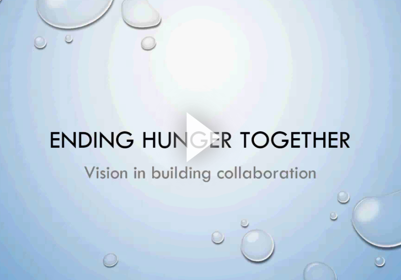 What's Our Recipe? - Ending Hunger Together.Supplements: Project 1 videoProject 2 videoReadiness Project video