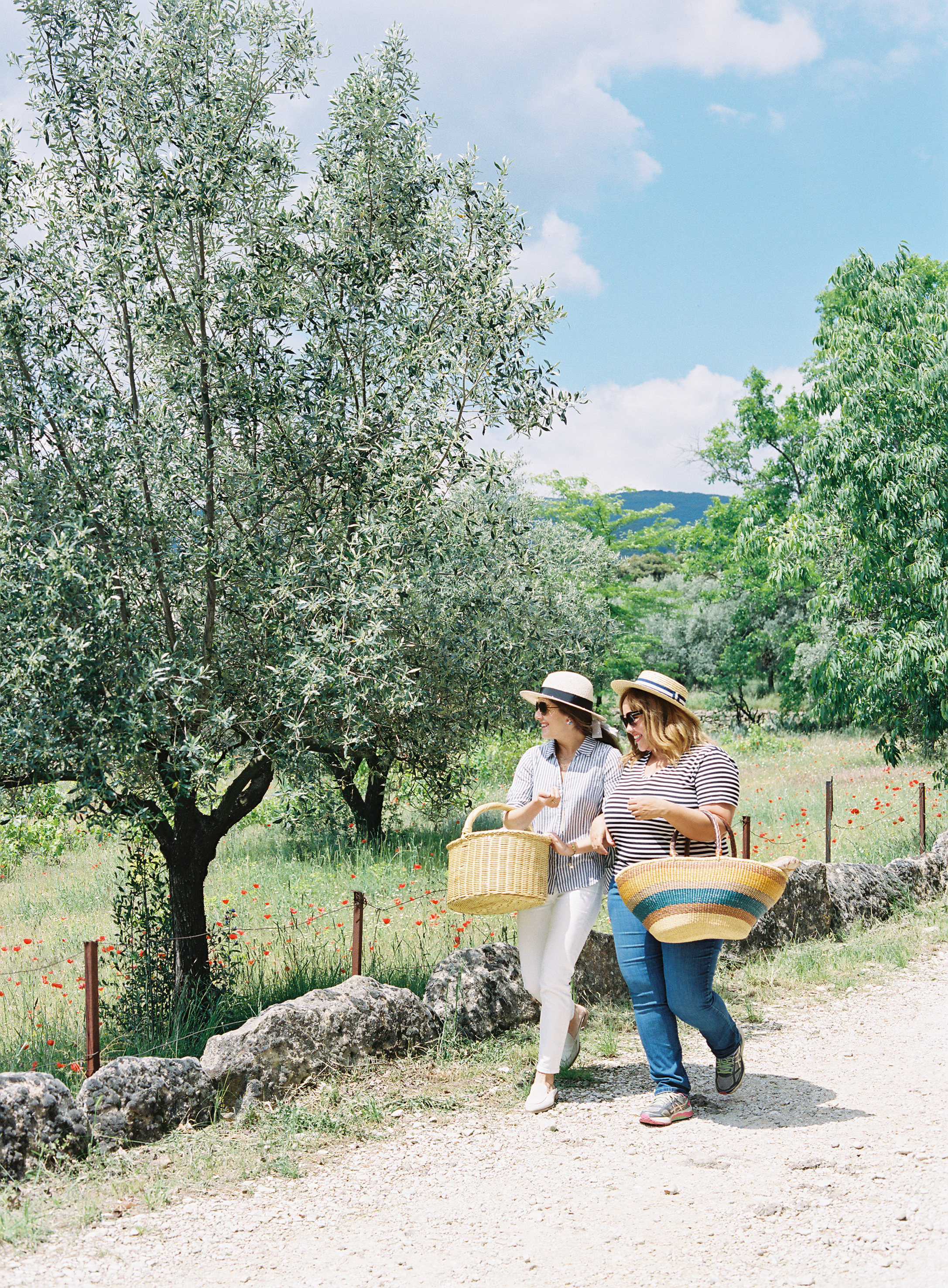 Picnicing in the Luberon