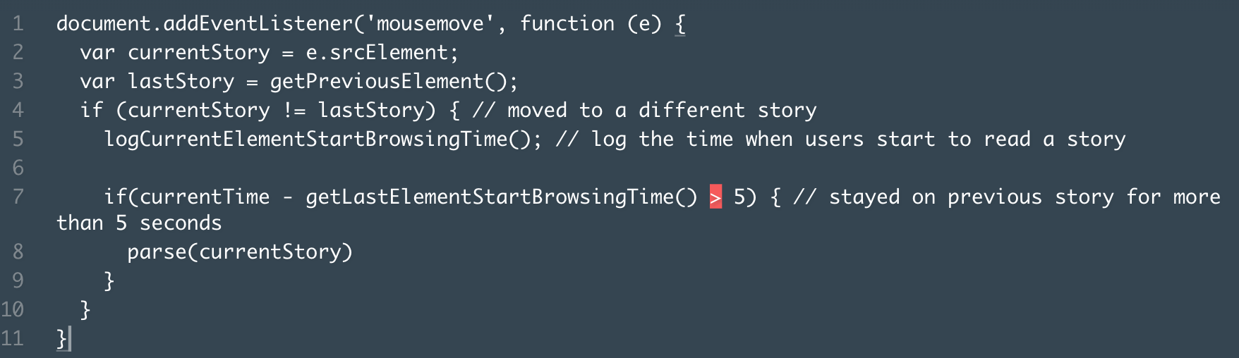 Demo code of extension function to extract and parse the HTML under the cursor