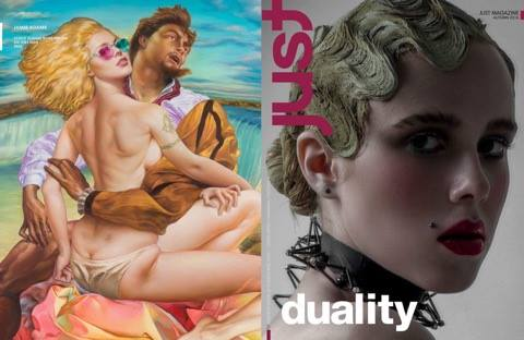 Duality- Just Magazine October 2016   http://www.just-magazine.com/  https://www.quadeau.com/duality/