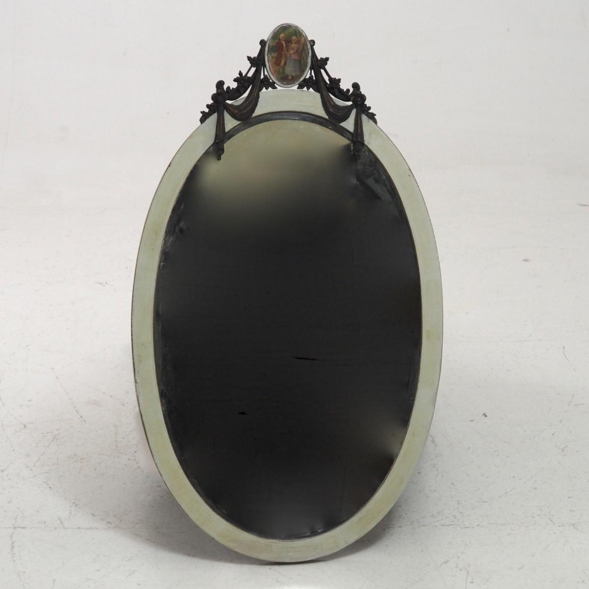 Gustavian style mirror. - € 400