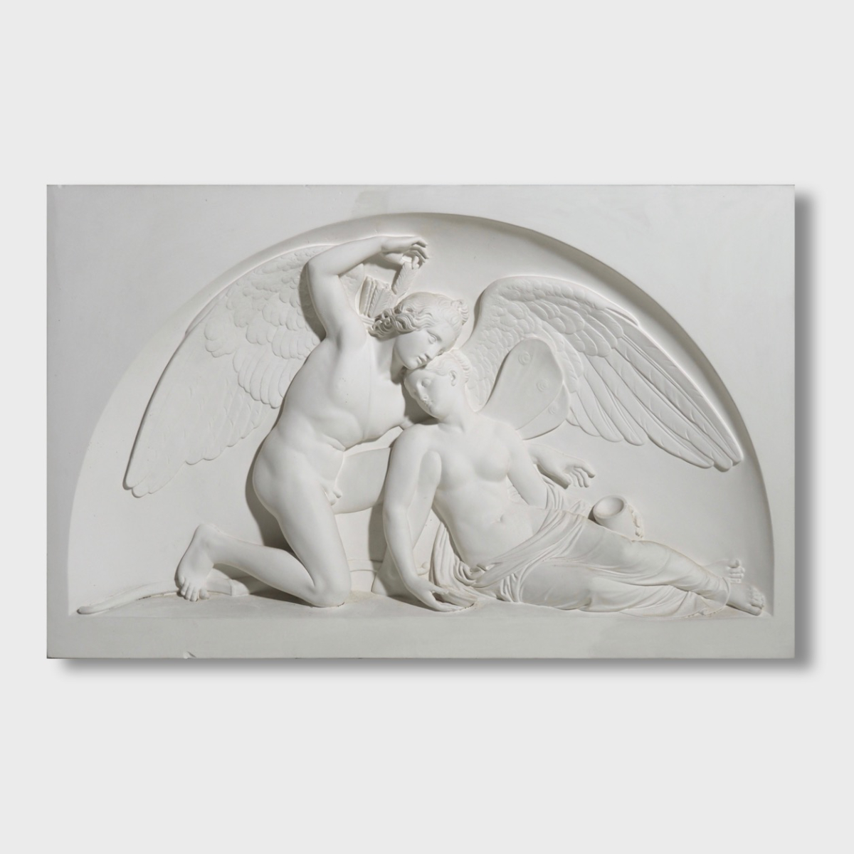 "Relief after Bertel Thorvaldsen, ""Amor"". - € 1.000"