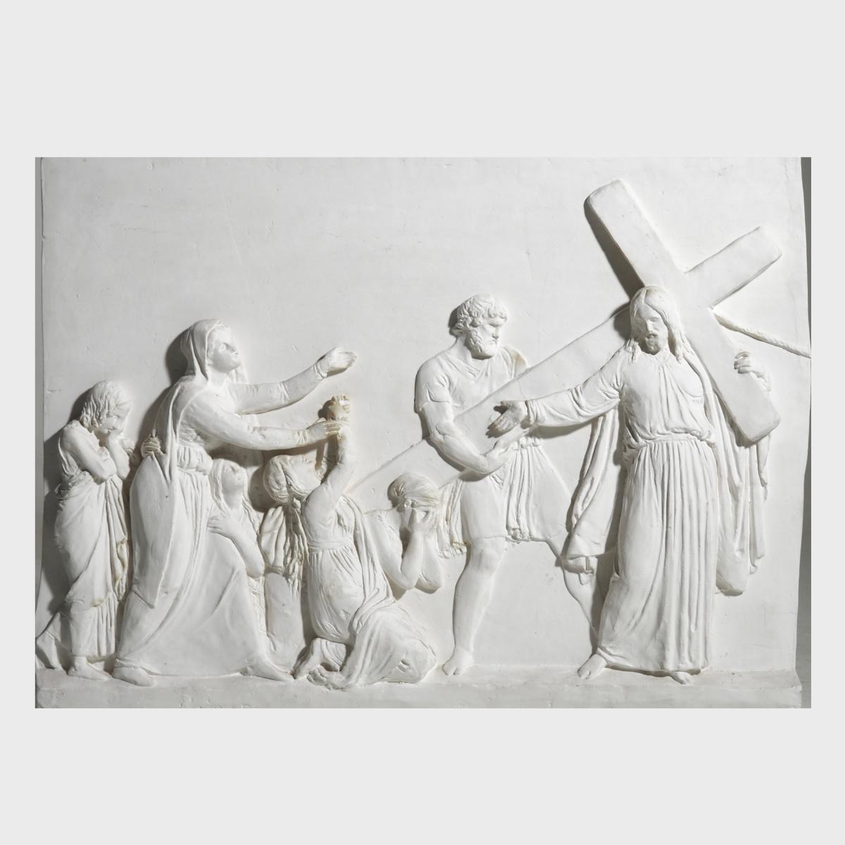 "Fine plaster, sign ""Thorvaldsen Museum"". - € 800"