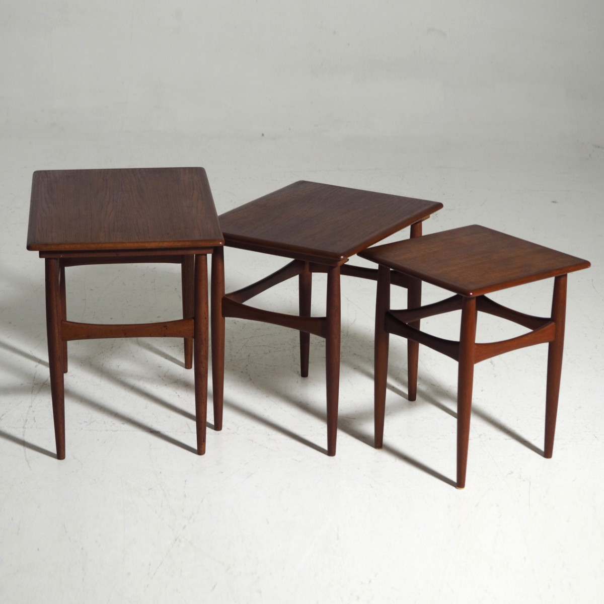 13235-1D  Nest of tables in teak, Danish architect, circa 1960..jpg