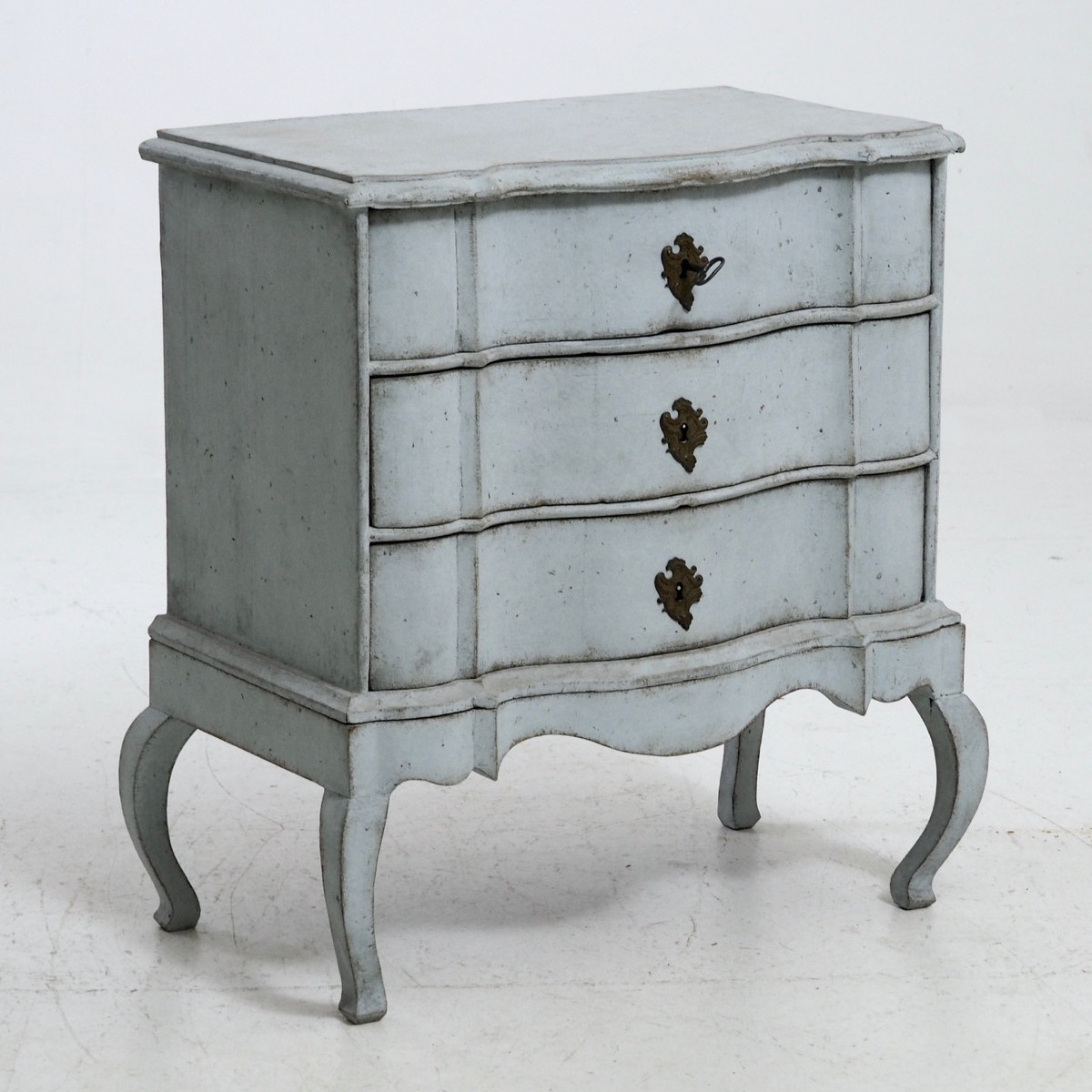 Scandinavian Rococo chest, 18th C. - € 1.600