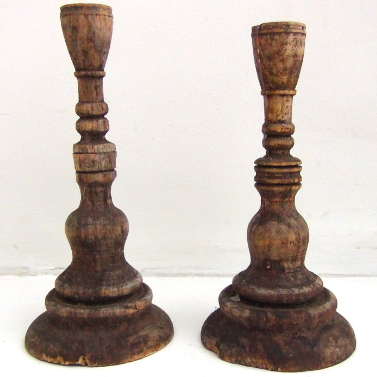 Swedish candlesticks, , circa. 1720. - € 800