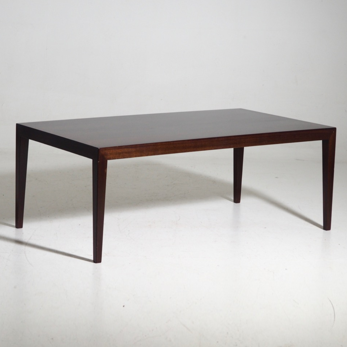 Coffe table in rosewood, 60's. - € 450