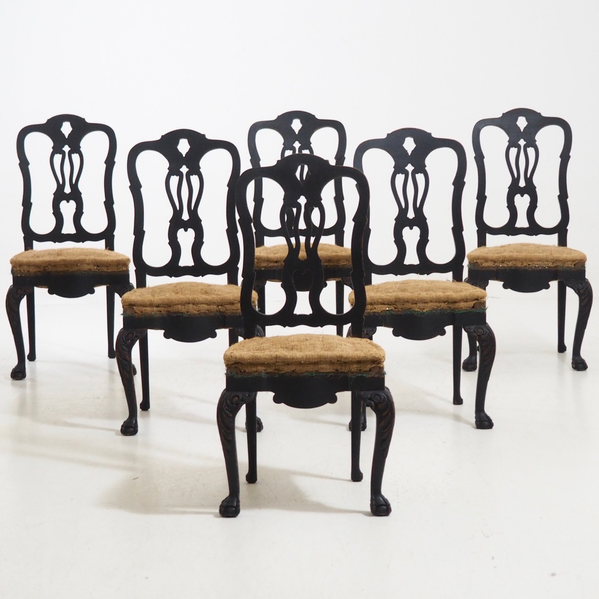 Large Swedish chairs, 19th C. - € 1.800