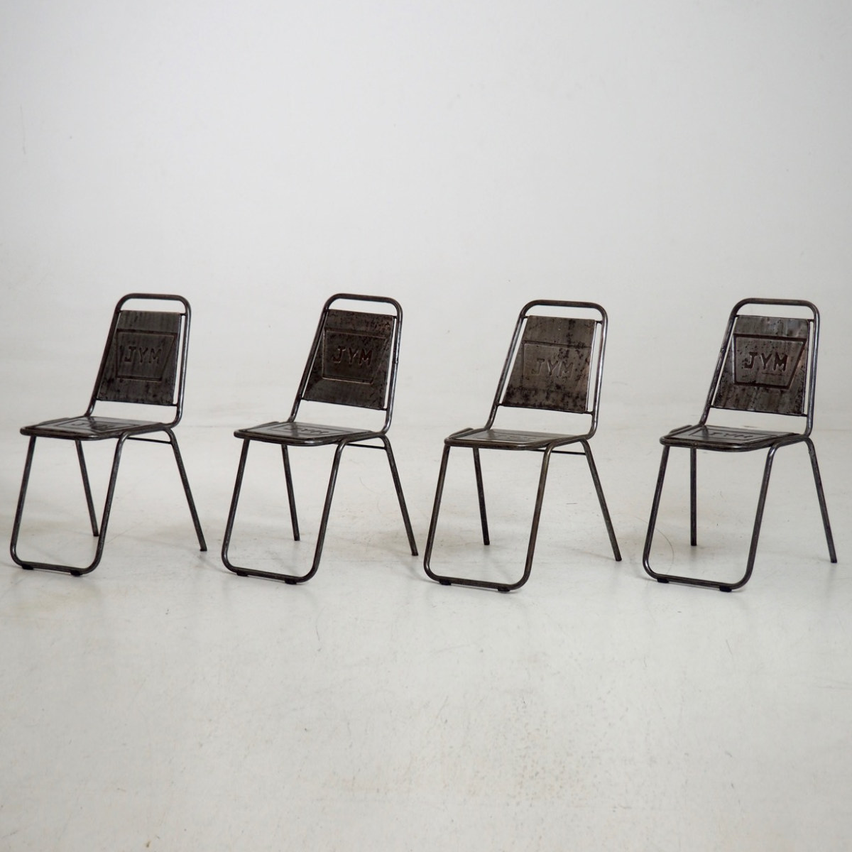 Four French cafe chairs, 20th C. - € 900