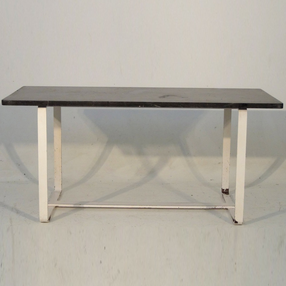 Rare Swedish iron table, circa 1930. - € 1.200