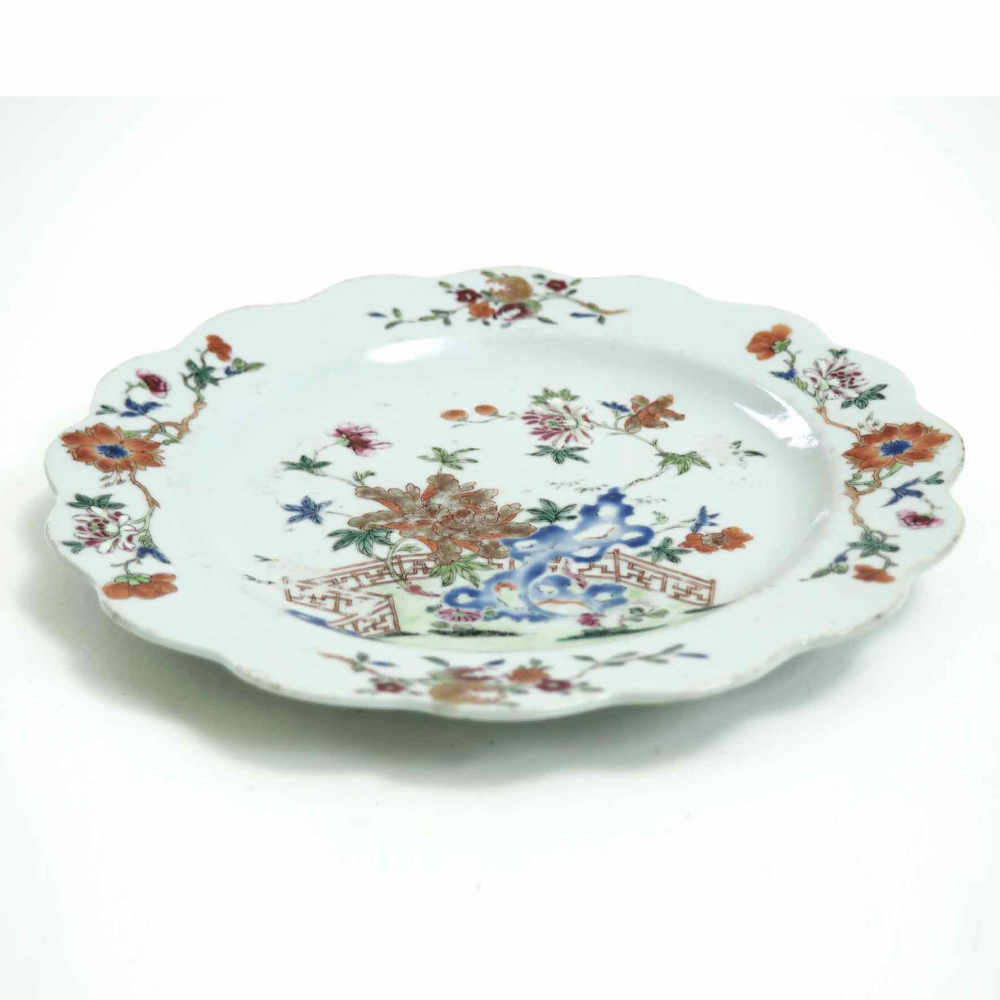 Chinese plate, 18th C. - € 300