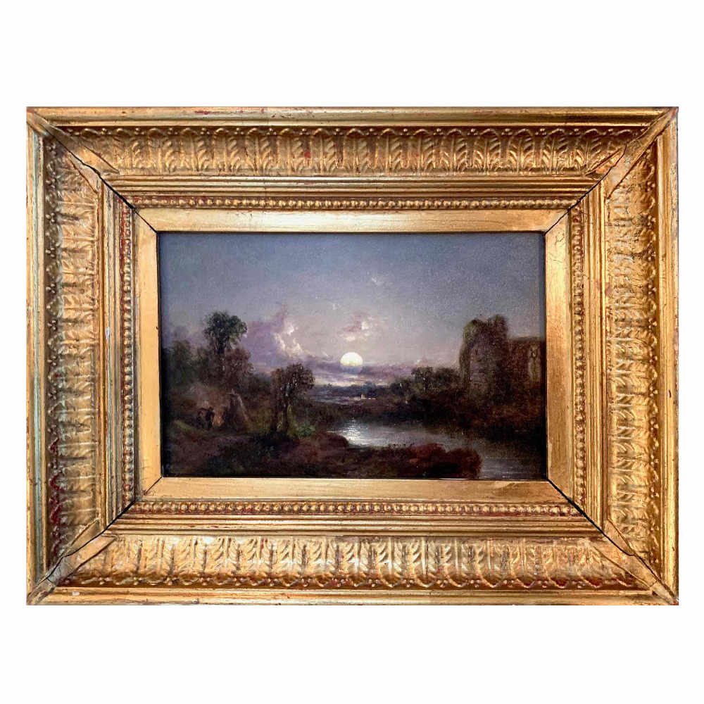 Landscape painting, early 19th C. - € 2.000
