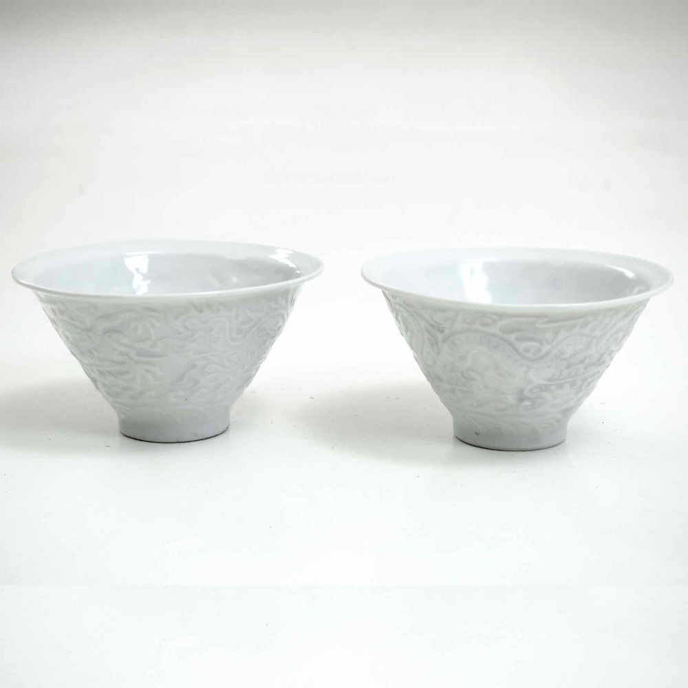 Pair of Chinese bowl, 18 - 19th C. - € 600