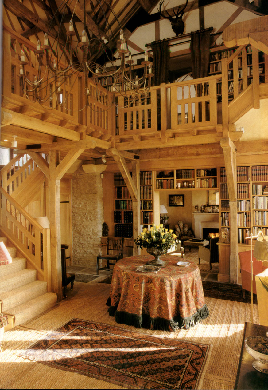 Cotswold Barn Conversion. Country Homes and Interiors. Dec 2006