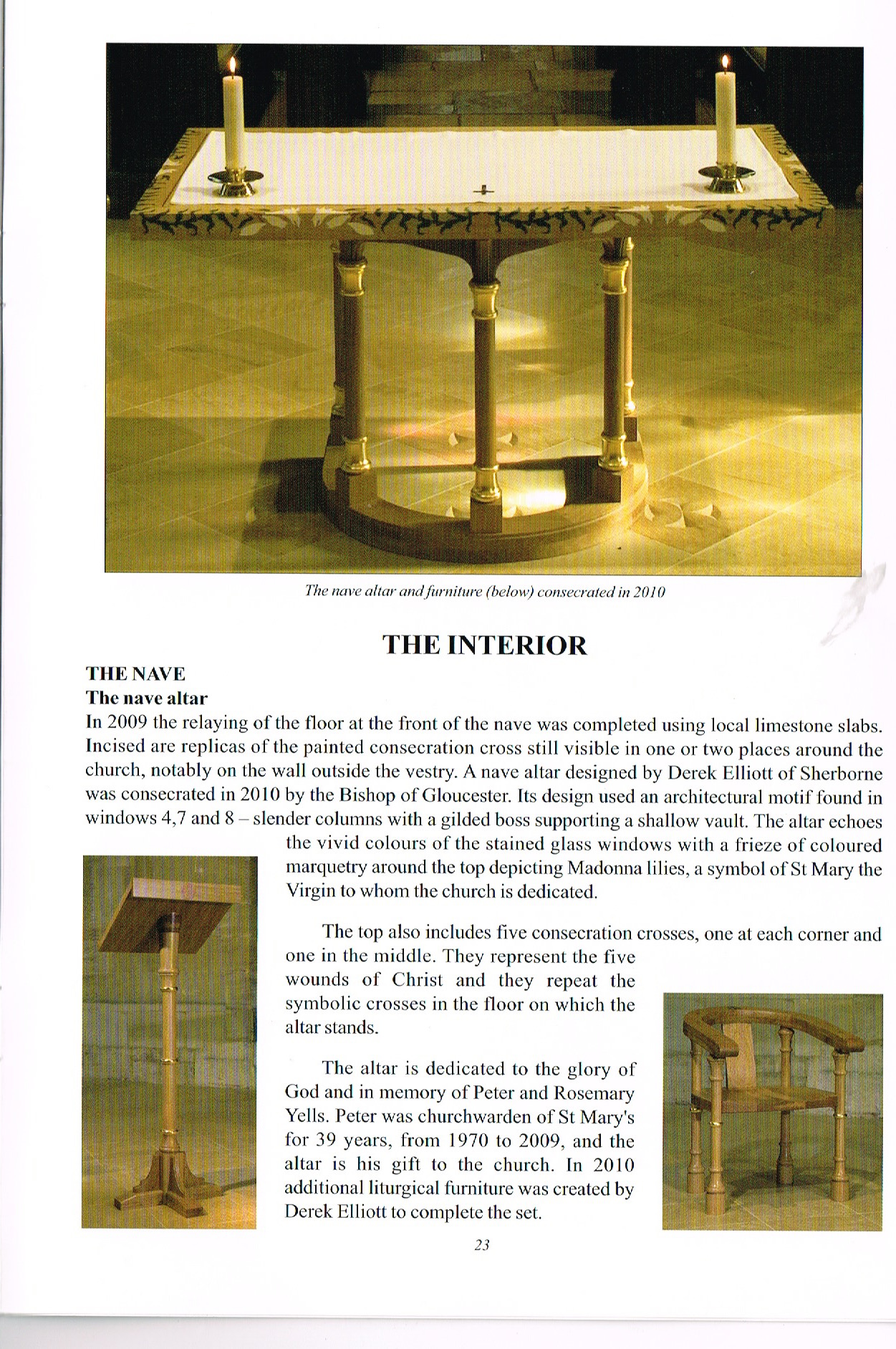 Guide to st Mary's Church, Fairford