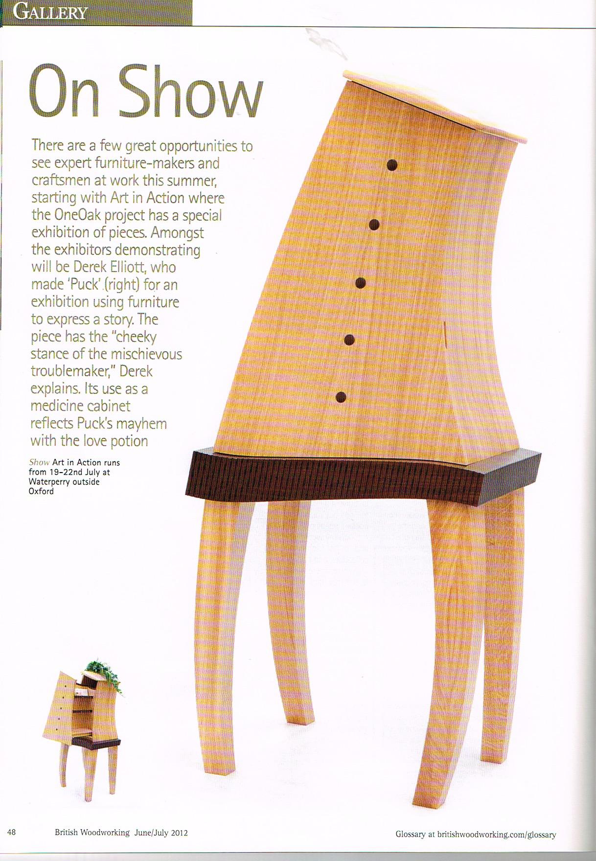 British Woodworking. June 2012