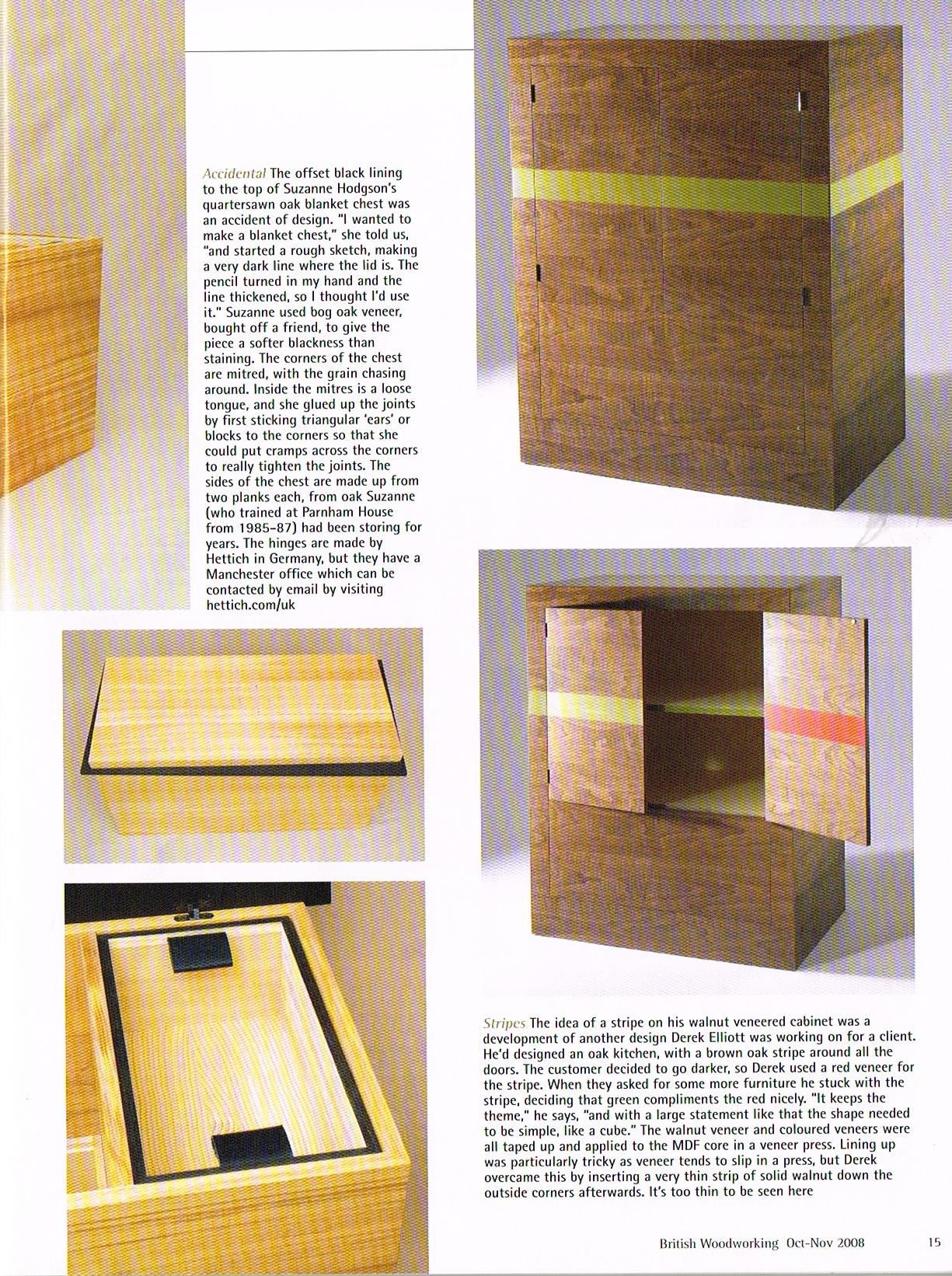 British Woodworking. Oct 2008