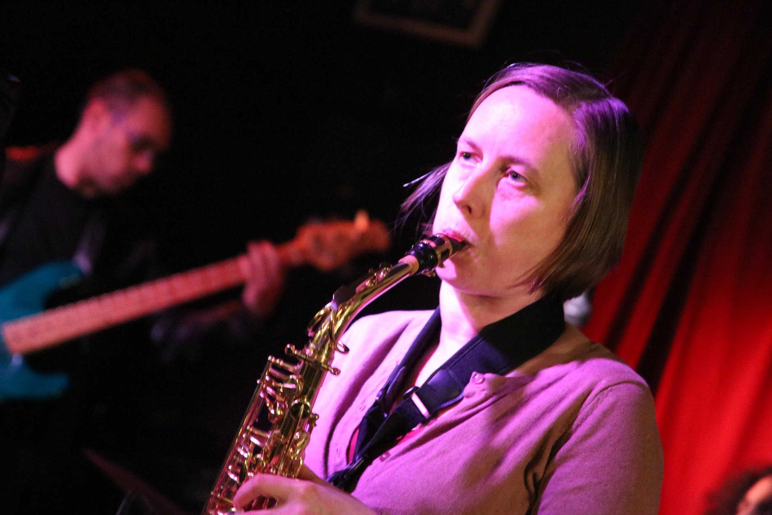 Katharine Friedmann - Keys, Saxophone