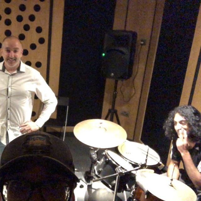 Four of Six in rehearsals - we're playing 4 songs this Saturday night (2 new and 2 classics) @thedonkey2016 Leicester for the Woz & Zoe farewell party celebration!  18 bands from 4 until late... For Tix see link in bio!  #live #music #funk #rock #reggae #indie #indiemusic #leicester #donkey #livemusic