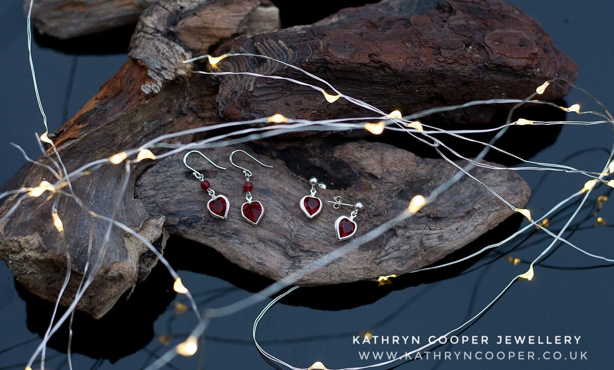 Red_heart_earrings_Kathryn Cooper Jewellery