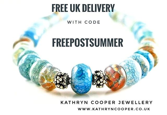 I'm giving free UK delivery on all online purchases via my website so follow the link in my bio. Use the code FREEPOSTSUMMER at the checkout for free UK delivery 💎💎Plus extra bonuses if you sign up to my mailing list via my website. 💎💎 ❤💜💚💙❤💜💚💙❤ . . . . . . #handmadejewellery #handmadejewelleryuk  #freepostuk #freedeliveryuk #jewellerydiscounts #bespokejewellery #fireagate#jewelleryshopping #necklace #jewelleryaddict #hmuk  #madeinbritain  #ukblogger  #kathryncooperjewellery #blogger  #wearmorejewellery  #myjewelleryfamily  #oneoffjewellery #outfitinspiration  #jewelleryinfluencer #whattowear  #giftsforher #birthdaygift #favouritecolours #silverjewellery #jewellerylover  #ukjewellery #ukjewellerydesigner #giveaway