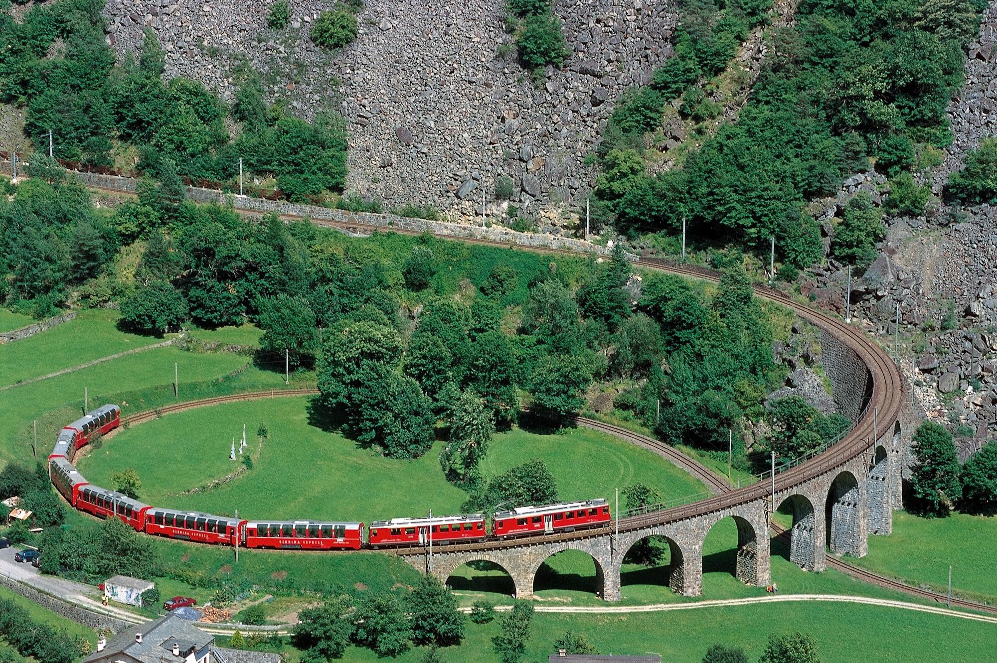 Brusio Circular Viaduct -