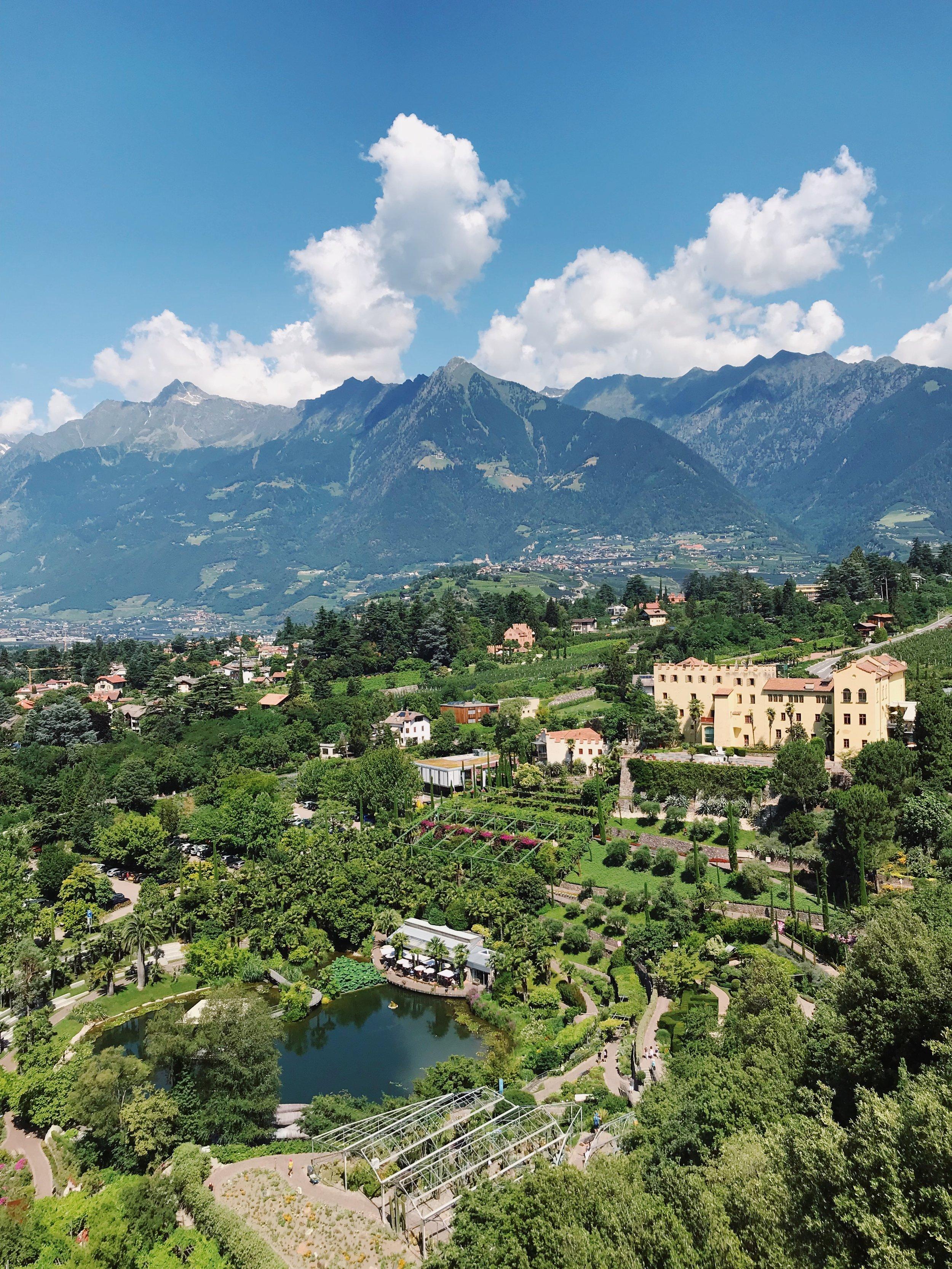 The Valley of Merano.