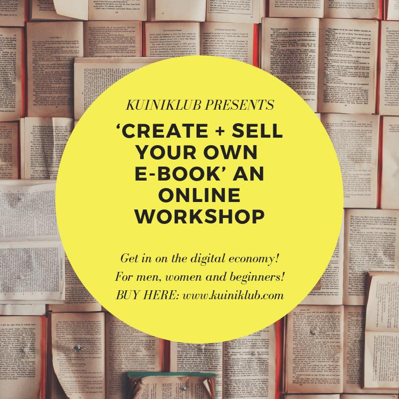 create your own ebook workshop