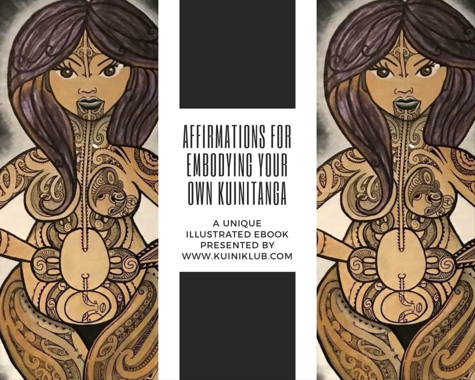 kuinitanga ebook affirmations maori