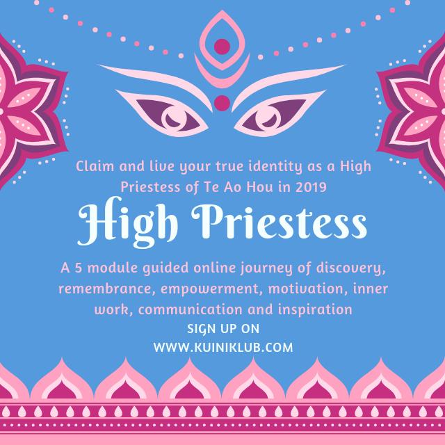 maori high priestess atua wahine mareikura