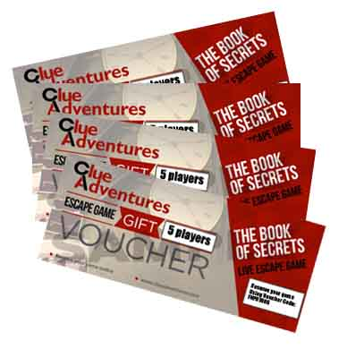 Locked Room Gift Vouchers