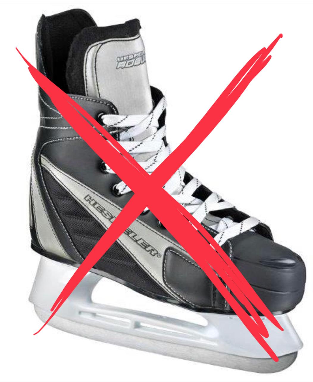 NO Hockey Skates