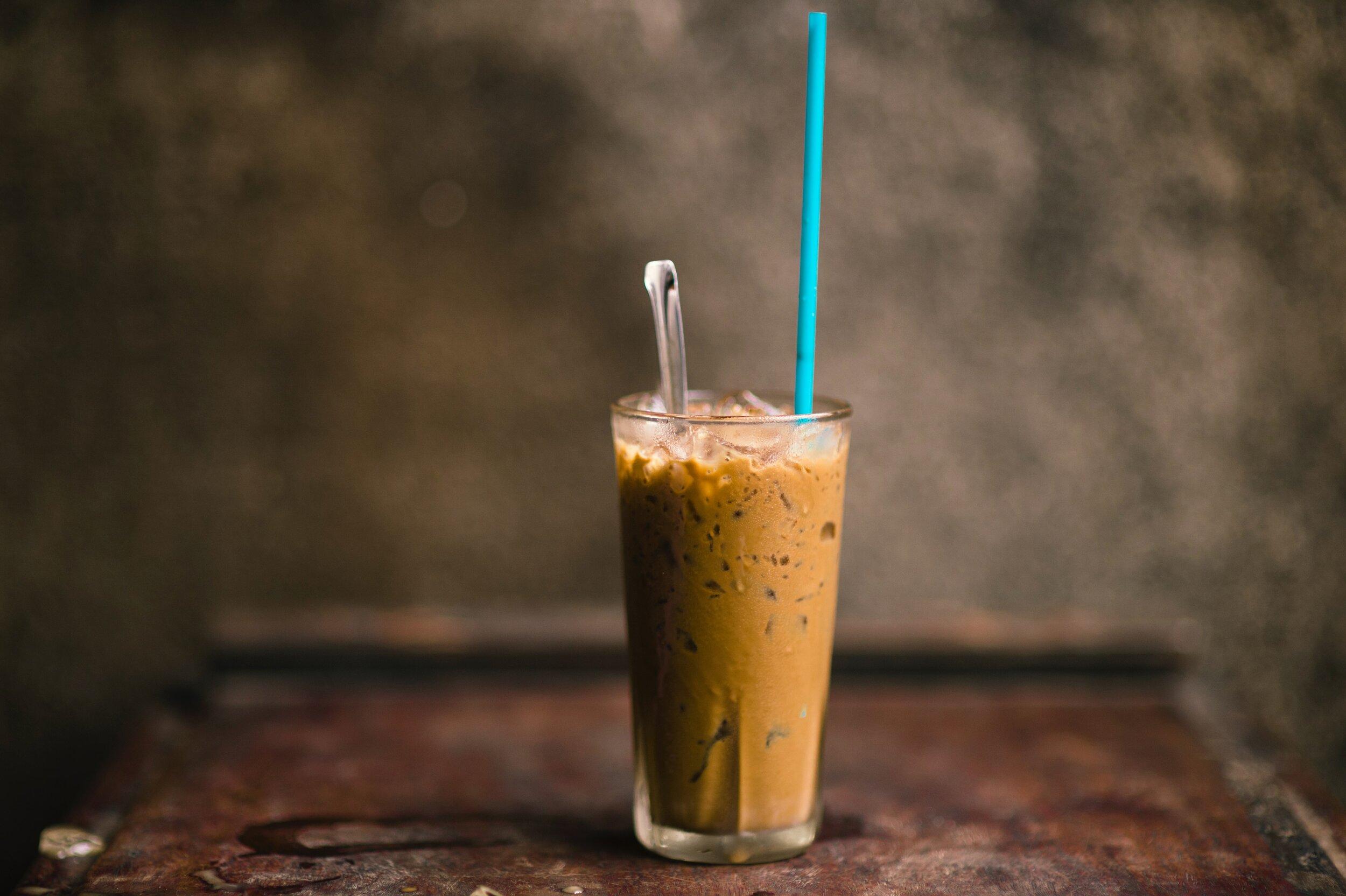 Iced Latte. photo credit: Frank Mckenna