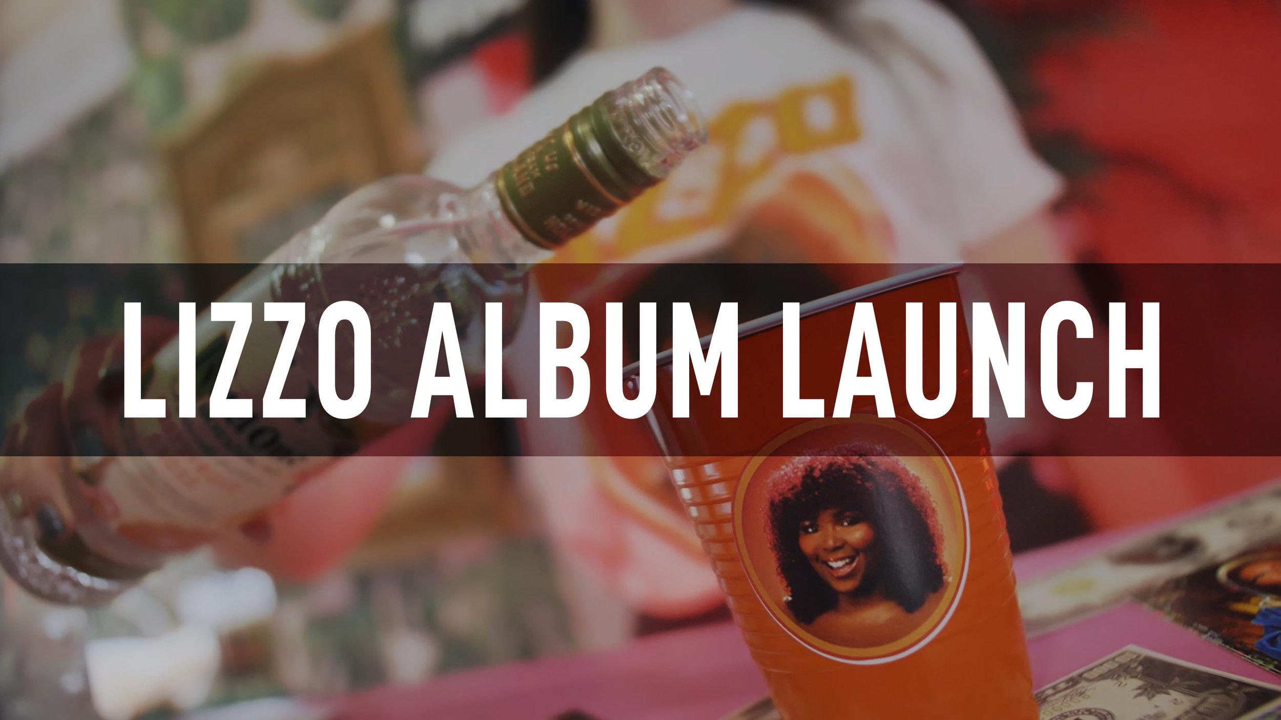 Lizzo Album Launch 2019
