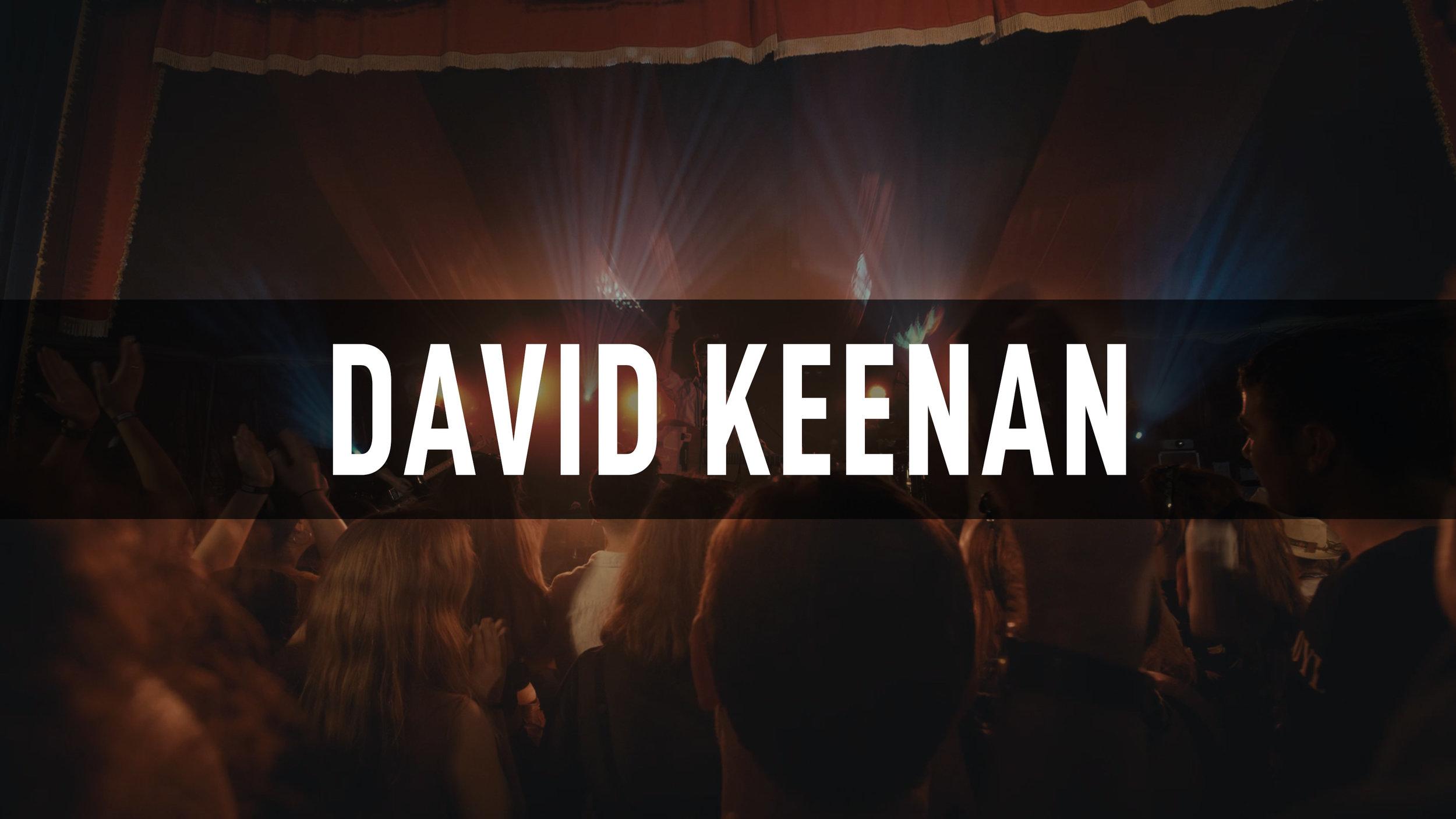 David Keenan // Electric Picnic 2018