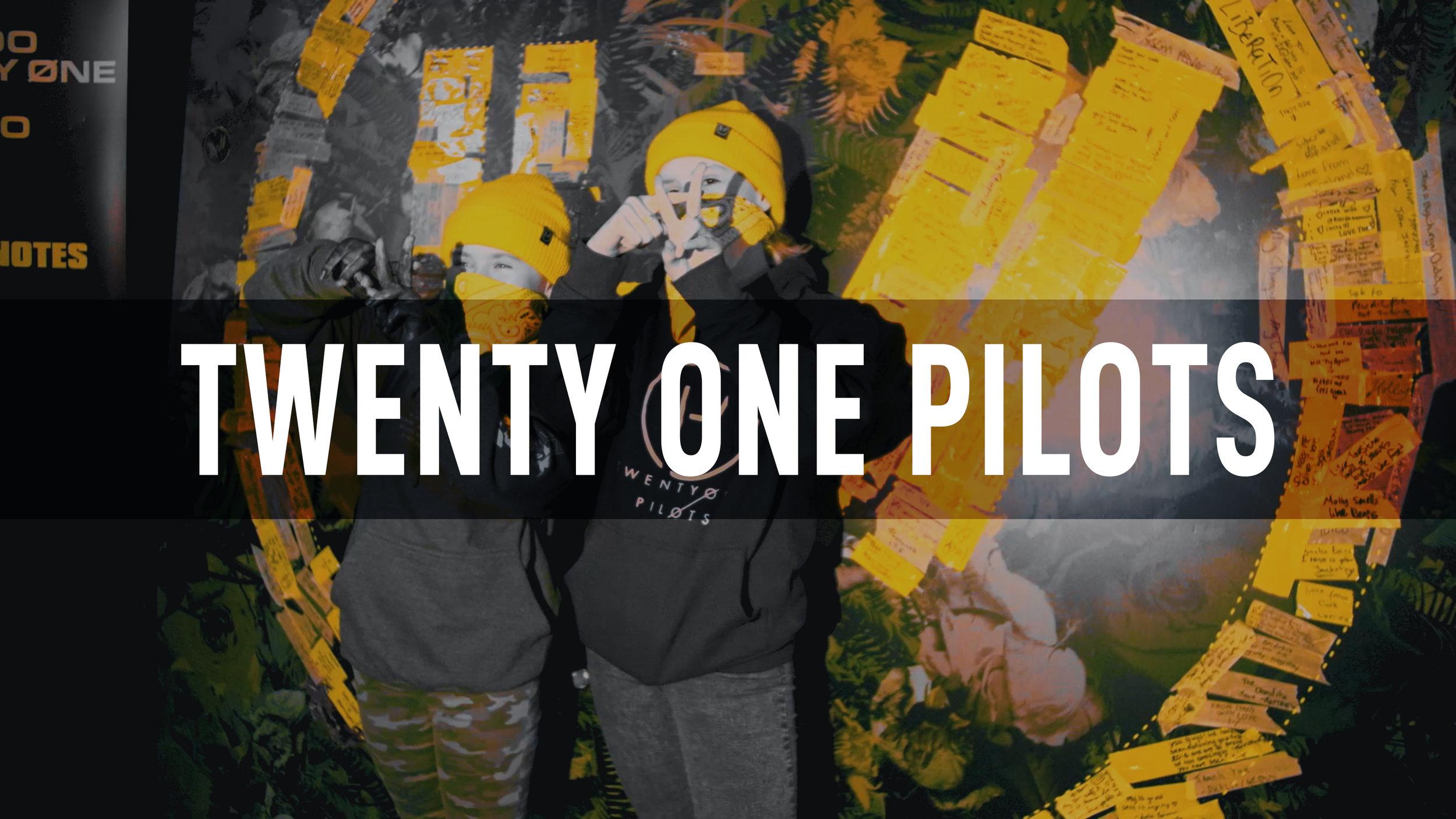 Twenty One Pilots TRENCHNOTES 2019