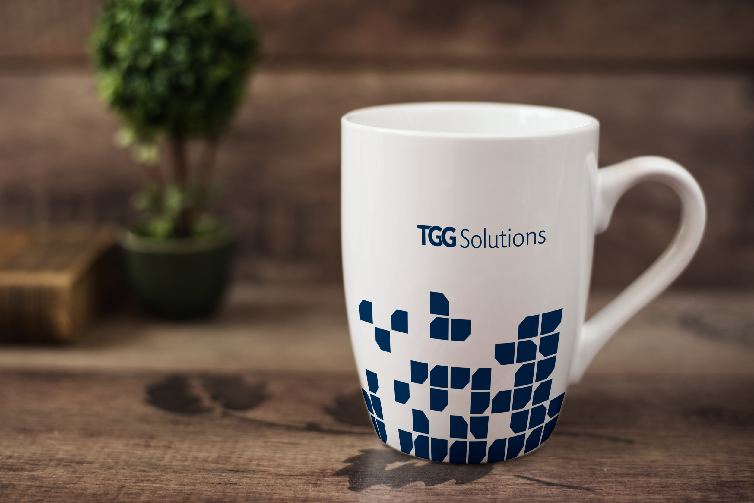 Promotional Mug  TGG Solutions