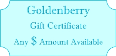 Goldenberry Gift Certificate