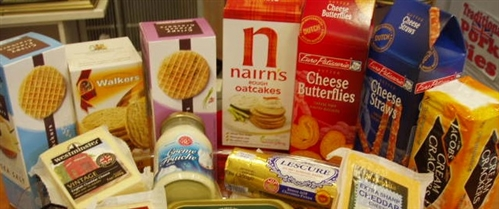European Savoury Biscuits & Nibbles  . Please stop in to see our full section