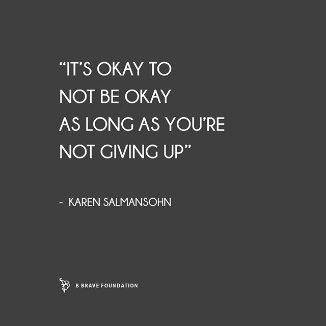 Reminder: don't give up. #bbravefoundation #thisisbbrave #dontgiveup #mamagrief