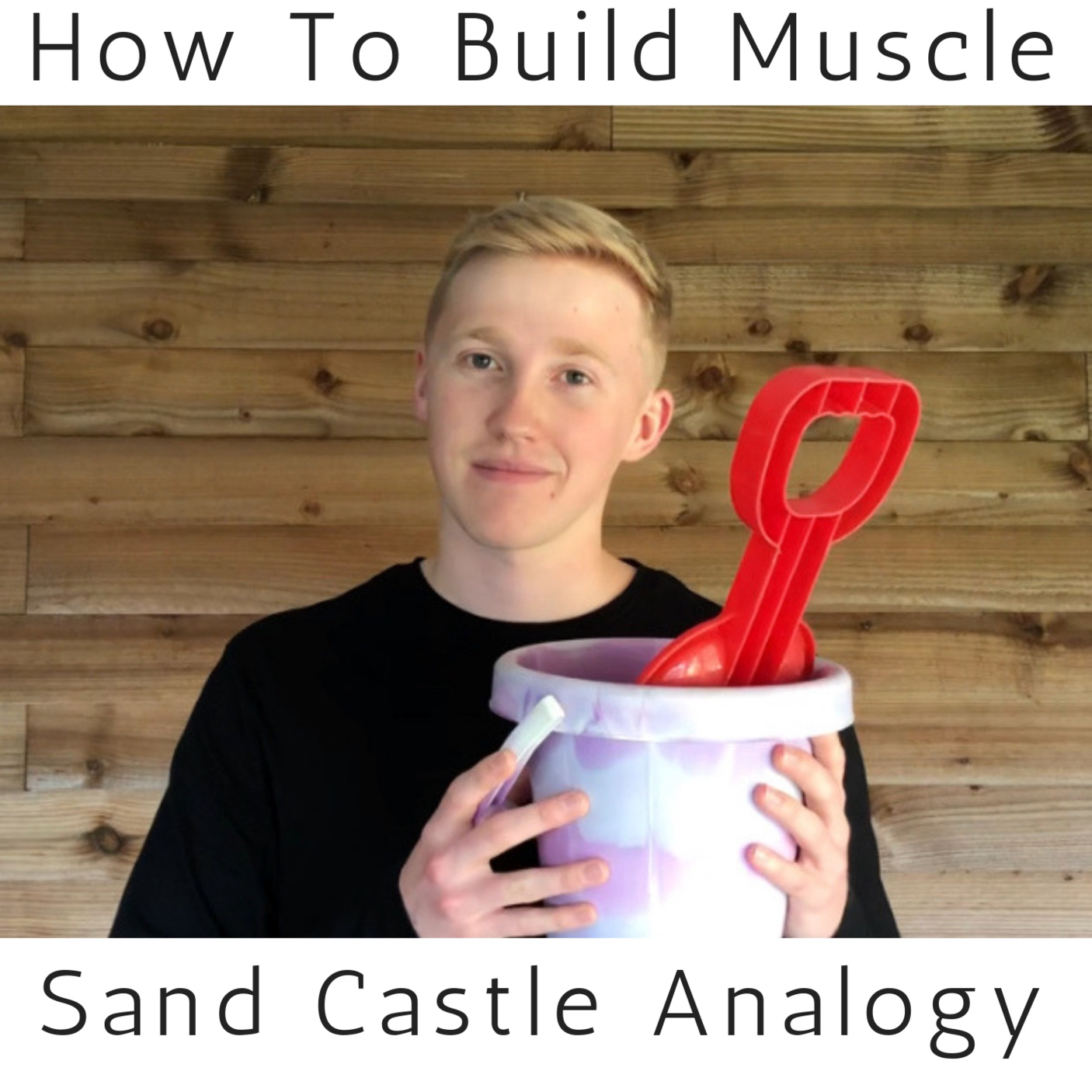 5 year old you, not only learnt how to build a sandcastle at the seaside… you simultaneously learnt the fundamental principles behind muscle building.  Read now