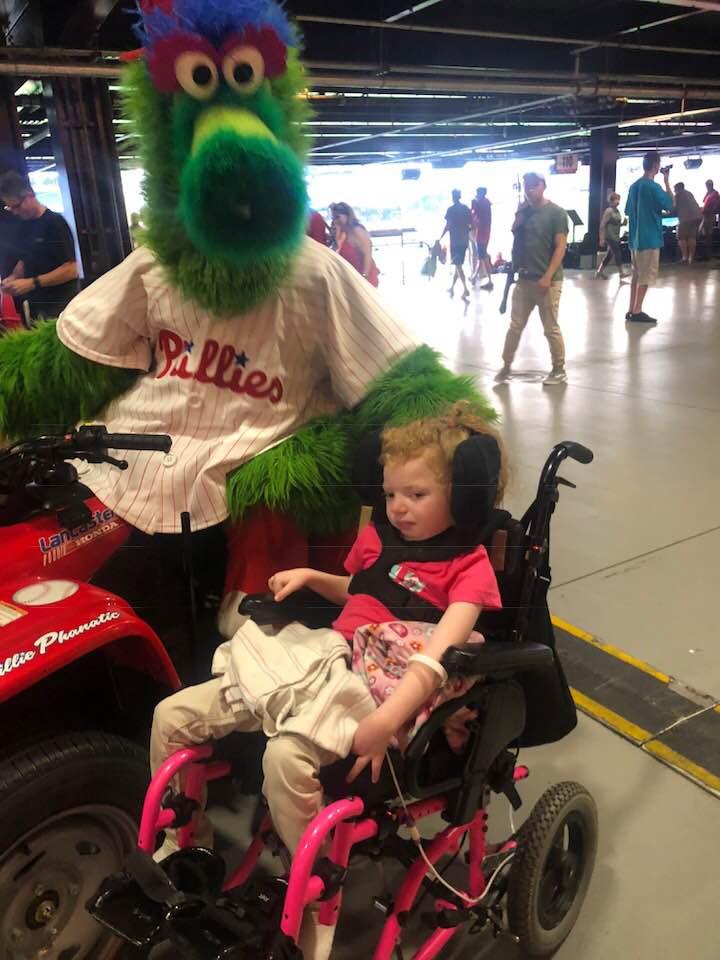 Michael, Kieran, and beautiful Charlotte were lucky to enjoy a wonderful MASA night at the ballpark.