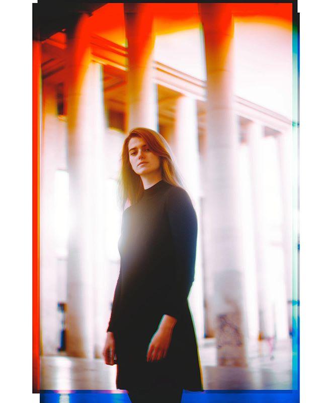 Trichromatic process of @andreamands  #igersparis #trichromatic #vintagelens #portrait_vision #portraitworld #portraitwomen #colors_of_day #redhairdontcare #visual