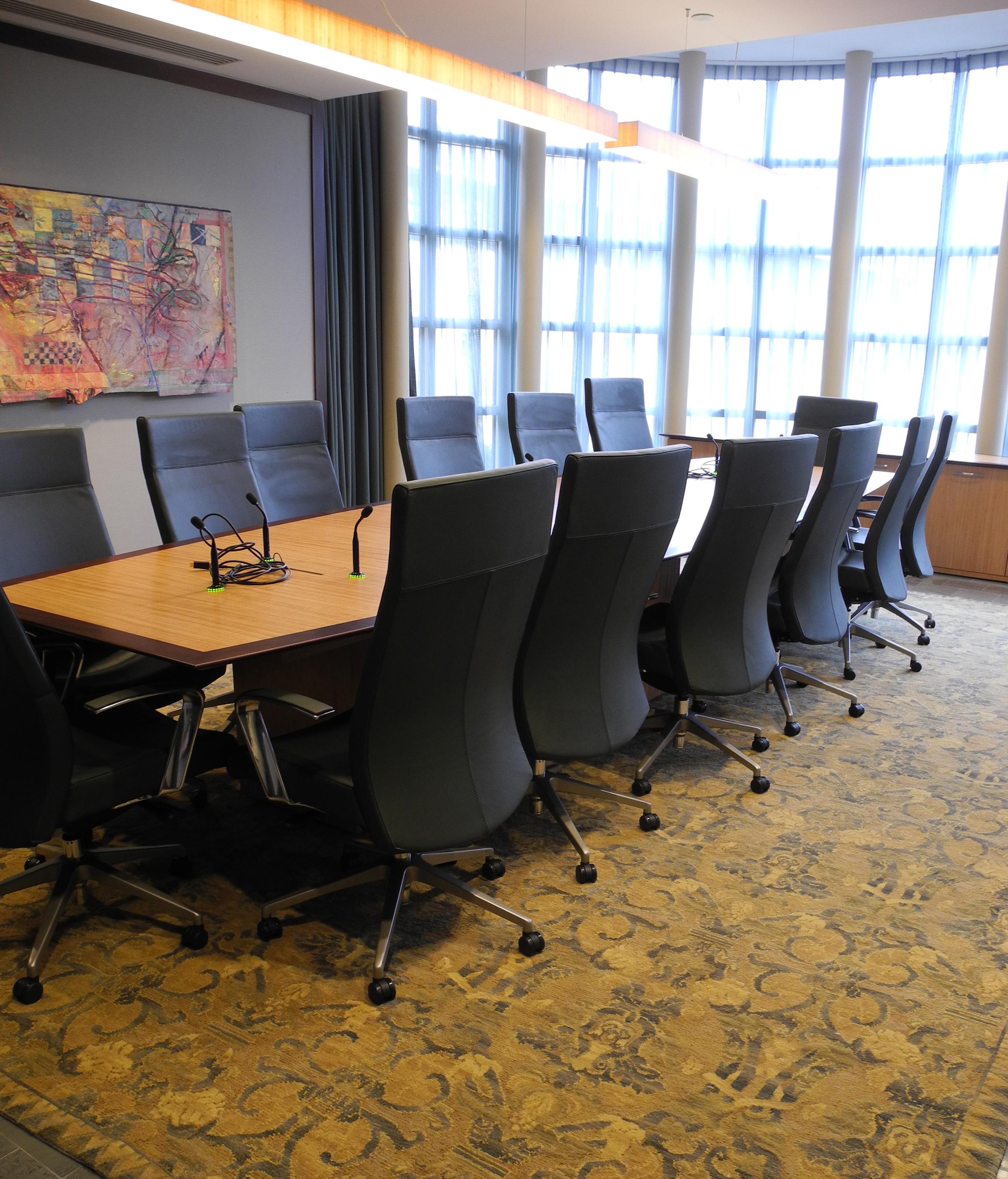 CEO Conference Room Commercial Interior Design